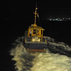 <b>Pilot boat, Bridgetown, Barbados</b> | Kamera: NIKON D700 | Brennweite: 28mm | Blende: ƒ/4 | Verschlusszeit: 1/15s | ISO: 6400