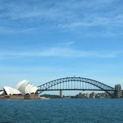 <b>Sydney Harbour Bridge</b> | Kamera: NIKON D70s | Brennweite: 27mm | Blende: ƒ/18 | Verschlusszeit: 1/250s |