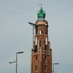 <b>Alter Leuchtturm (Loschenturm), Bremerhaven, Germany</b> | Kamera: NIKON D70s | Brennweite: 60mm | Blende: ƒ/7.1 | Verschlusszeit: 1/400s |