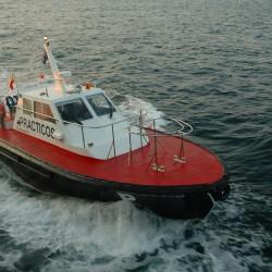 <b>Pilot boat, Vigo</b> | Kamera: NIKON D70s | Brennweite: 25mm | Blende: ƒ/5.6 | Verschlusszeit: 1/60s |