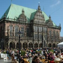 <b>City Hall, Bremen</b> | Kamera: NIKON D70s | Brennweite: 28mm | Blende: ƒ/13 | Verschlusszeit: 1/200s |