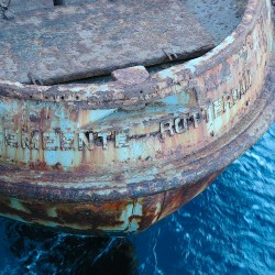 <b>Pilot boat, Mindelo, Cape Verde</b> | Kamera: NIKON D70s | Brennweite: 70mm | Blende: ƒ/7.1 | Verschlusszeit: 1/40s |