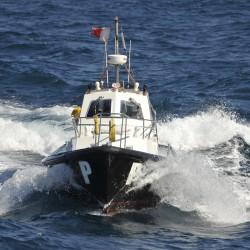 <b>Pilot boat, Las Palmas</b> | Kamera: NIKON D700 | Brennweite: 300mm | Blende: ƒ/5.6 | Verschlusszeit: 1/1250s | ISO: 200