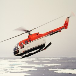 <b>Helicopter taking-off from RV Polarstern, Antarctica</b> | Kamera: NIKON D700 |  |  | Verschlusszeit: 1/80s | ISO: 200