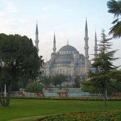 <b>Sultan-Ahmed-Moschee (Blaue Moschee), Istanbul</b> | Kamera: Canon DIGITAL IXUS 850 IS | Brennweite: 9.107mm | Blende: ƒ/4 | Verschlusszeit: 1/160s |