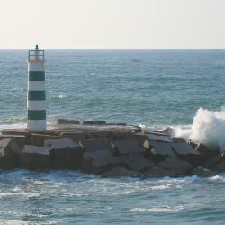 <b>Farol de Barra Nova (approch Faro)</b> | Kamera: Canon DIGITAL IXUS 850 IS | Brennweite: 17.3mm | Blende: ƒ/5.8 | Verschlusszeit: 1/640s |