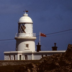 <b>Pendeen Watch lighthouse</b> | Kamera: Filmscan 35mm |  |  | Verschlusszeit: 1/11s |