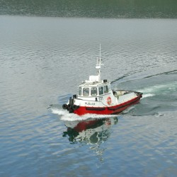 <b>Pilot boat Akureyri, Iceland</b> | Kamera: E990 | Brennweite: 23.4mm | Blende: ƒ/7.9 | Verschlusszeit: 1/194s | ISO: 100