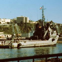 <b>Navy tender Janequeo, Chile 1993</b> | Kamera: Filmscan 35mm |  |  | Verschlusszeit: 1/11s |